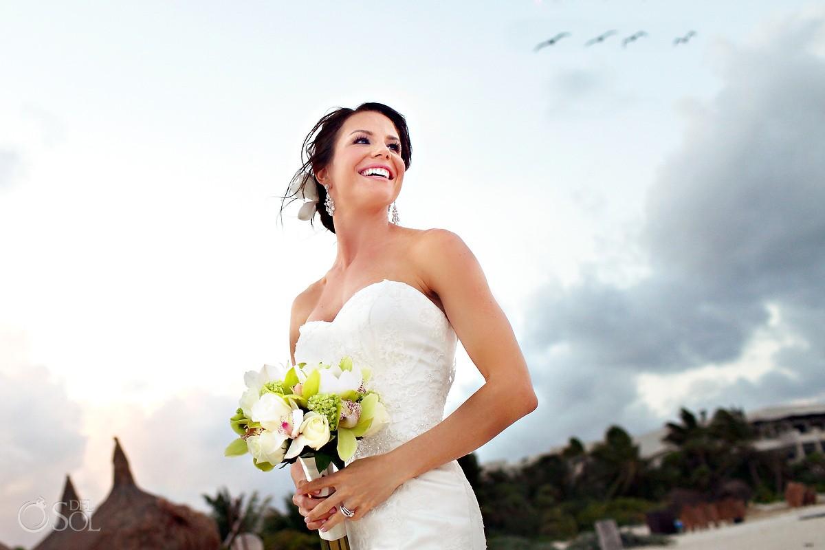 Riviera Maya beach wedding Amarte Maroma Mexico
