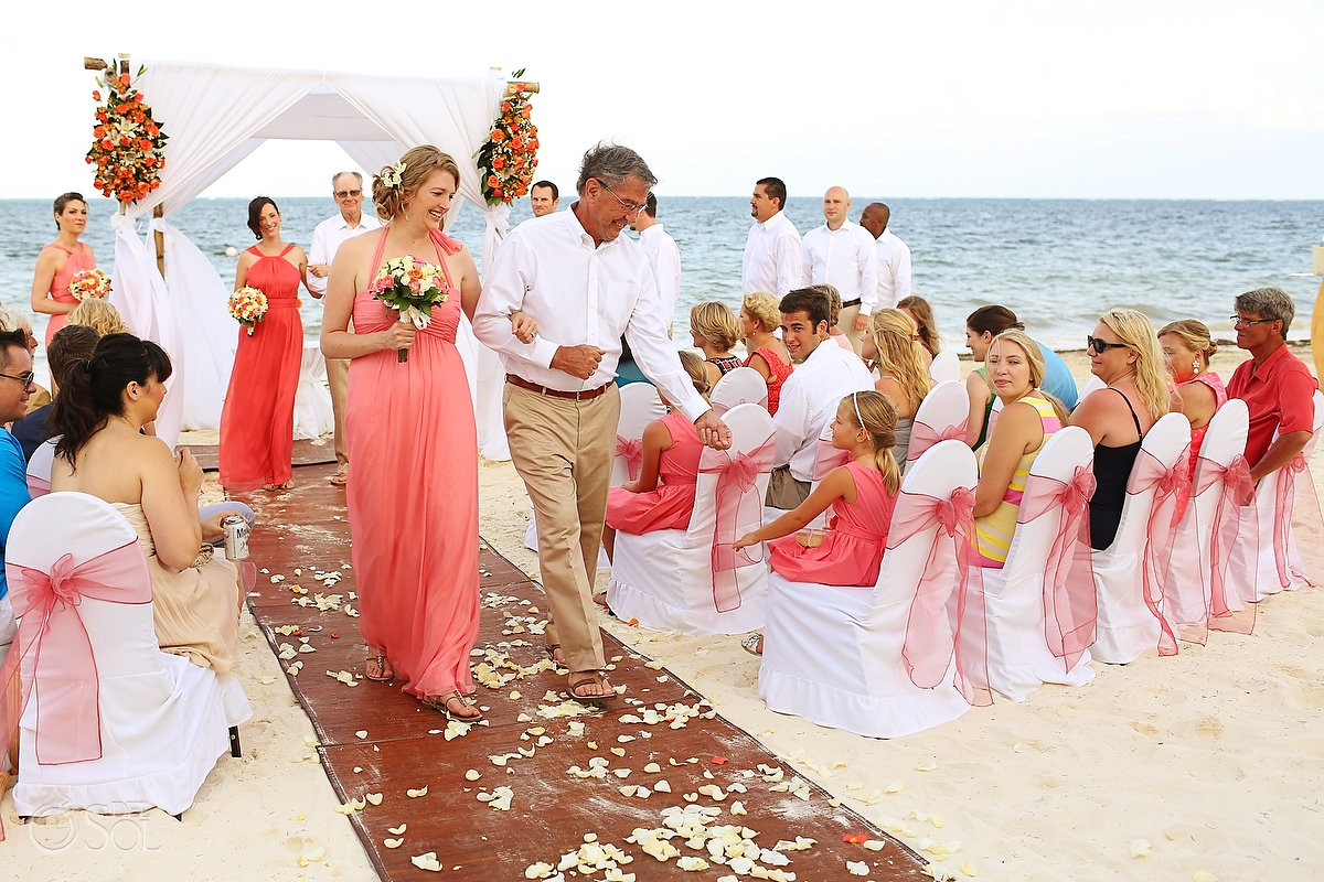Destination Wedding at Dreams Riviera Cancun