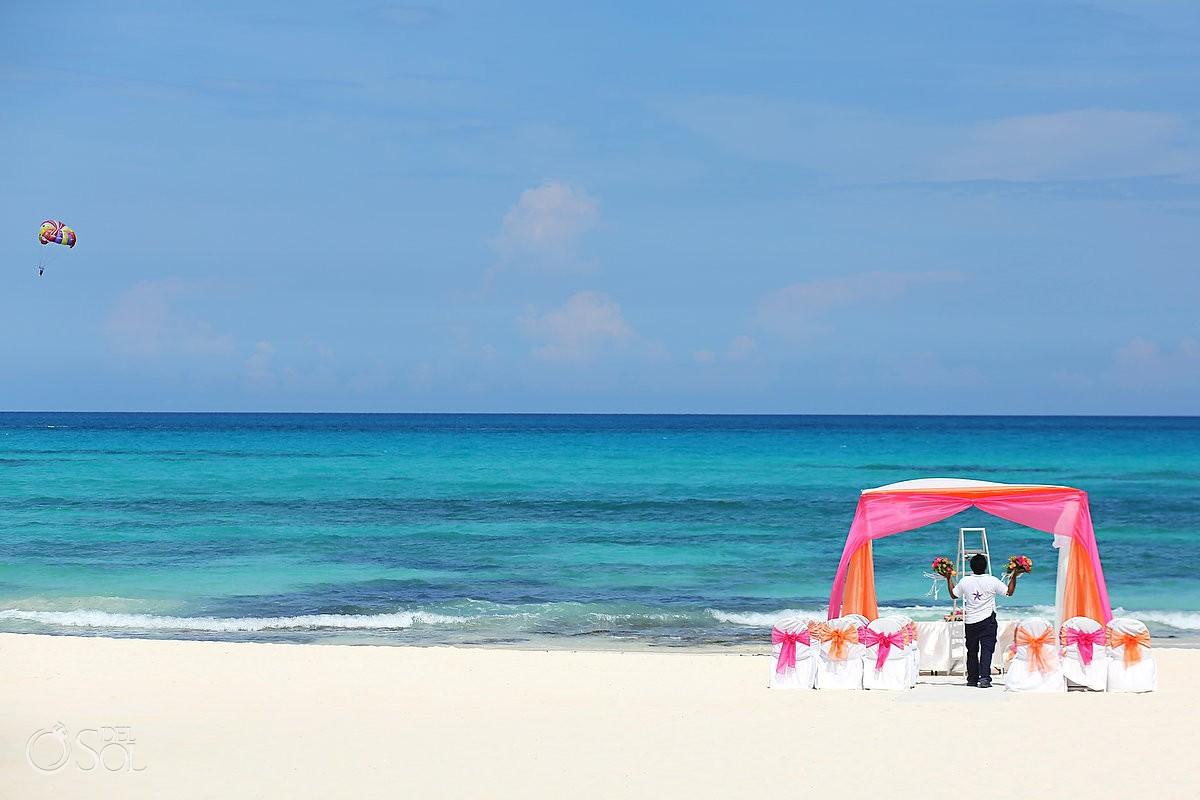 Riviera Maya wedding Iberostar beach Mexico