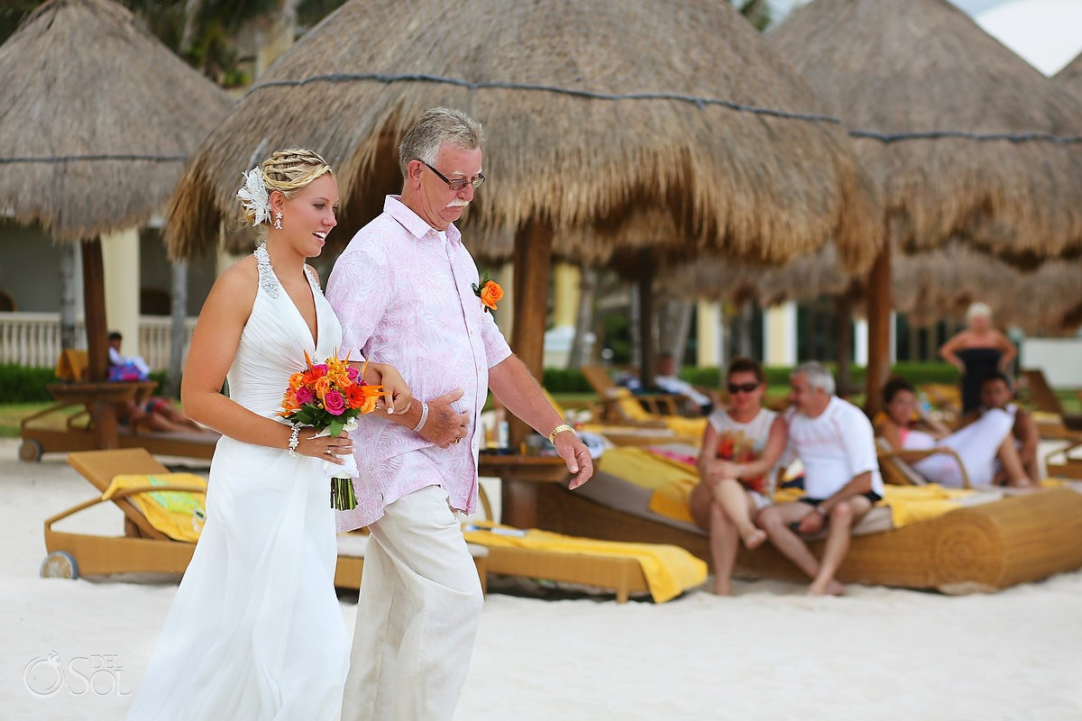 Riviera Maya Beach Wedding At Iberostar Grand Paraiso Stefanie And Greg