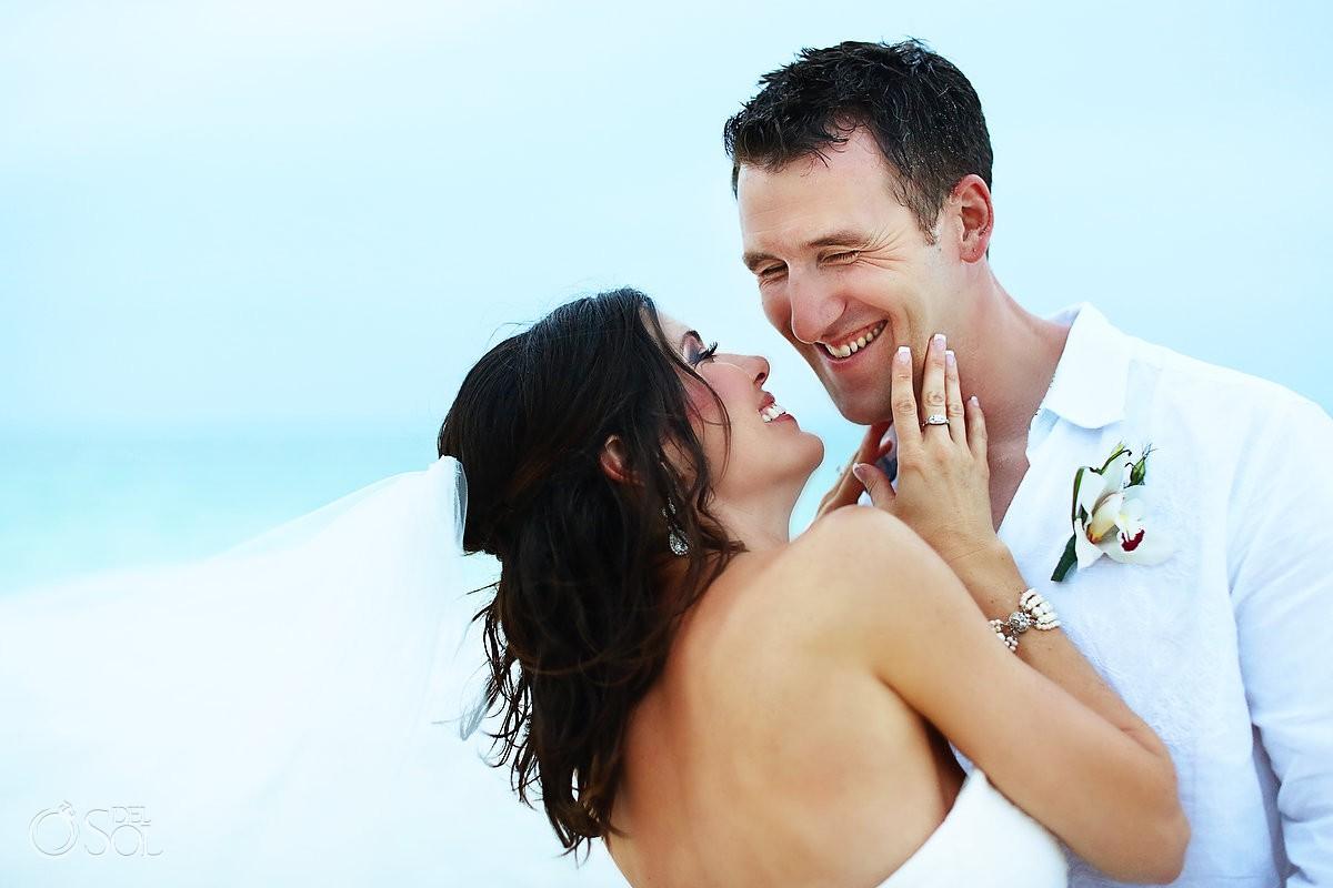 Wedding Riviera Maya beach Secrets Maroma Mexico