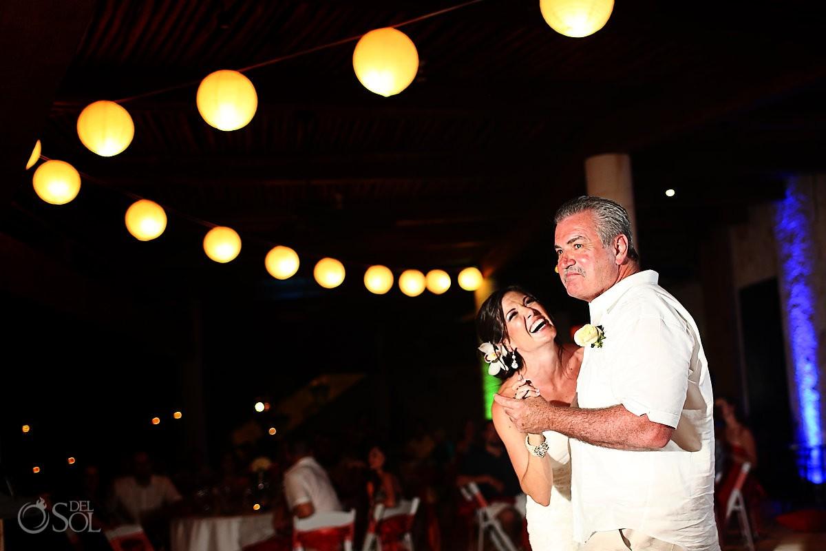 Wedding reception Riviera Maya Secrets Maroma Mexico