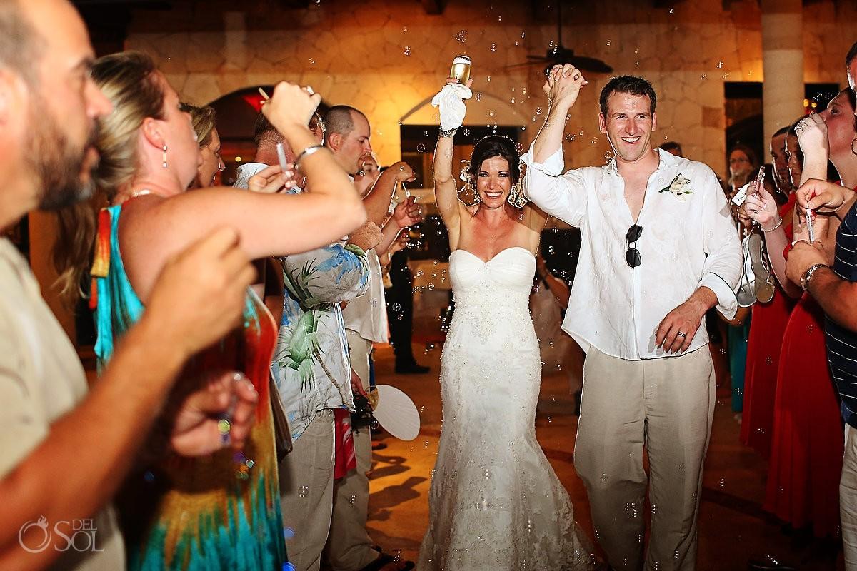 Riviera Maya wedding reception Secrets Maroma Mexico