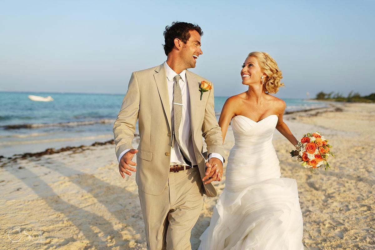 Riviera Maya beach wedding Secrets Maroma Mexico