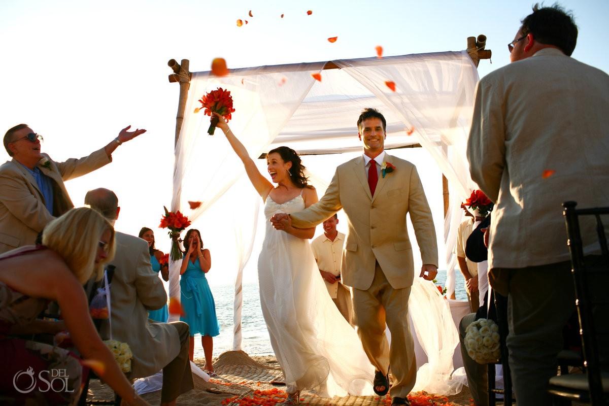 Puerto Vallarta beach wedding Villa Premiere Boutique Mexico