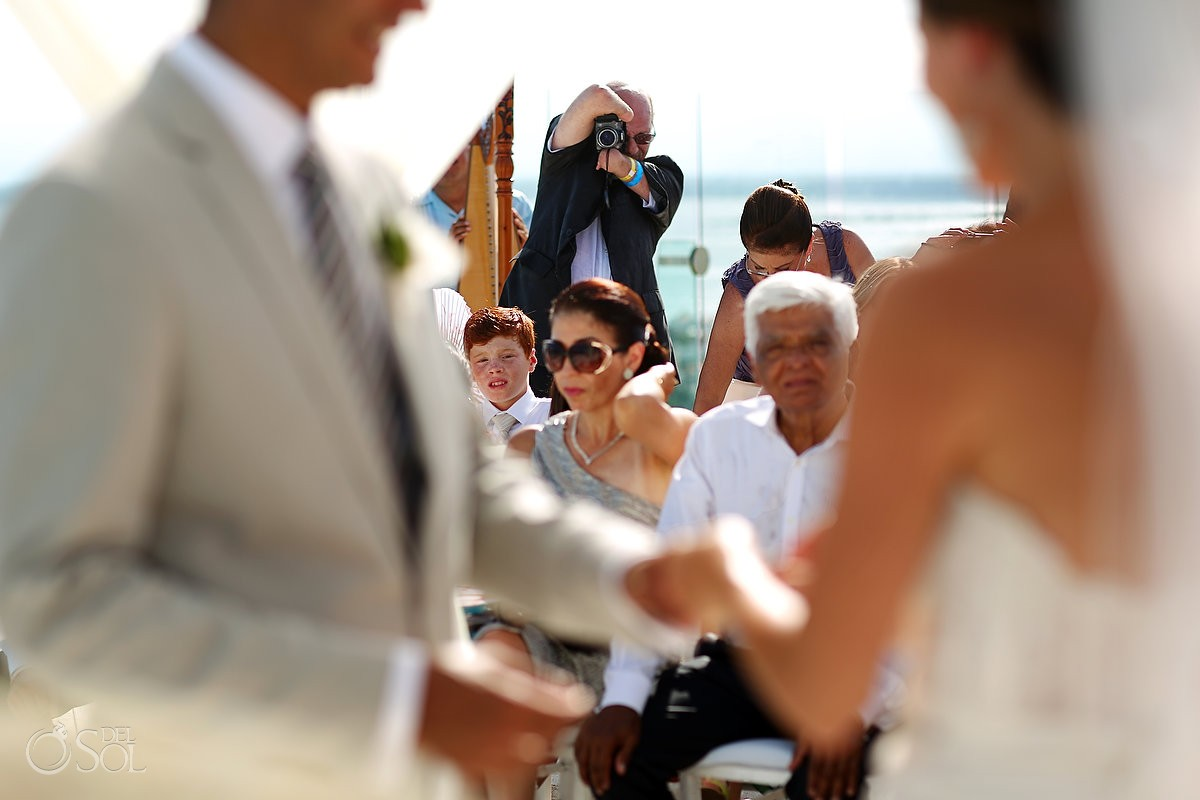 Cancun wedding Beach Palace Resort Mexico