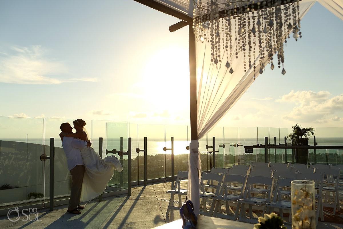 Wedding cancun Beach Palace Resort Mexico