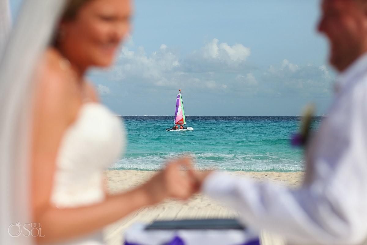 Playa del Carmen beach wedding Sandos Playacar Mexico