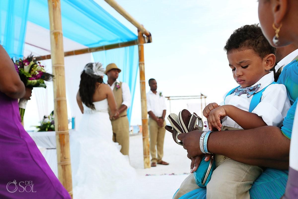 Beach wedding Dreams Riviera Cancun Mexico