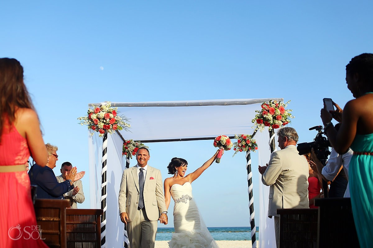 Riviera Maya beach wedding Grand Velas Resort Mexico