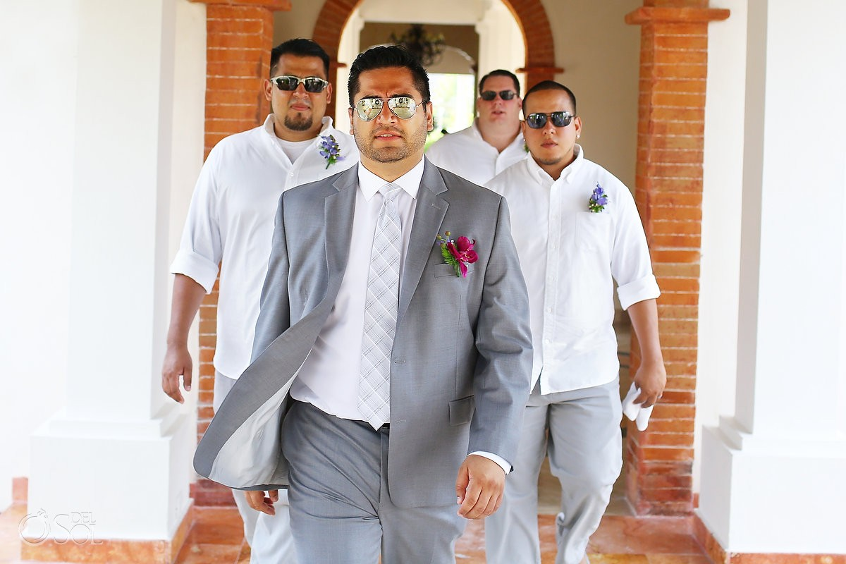 Riviera Maya wedding at Now Sapphire Resort Mexico