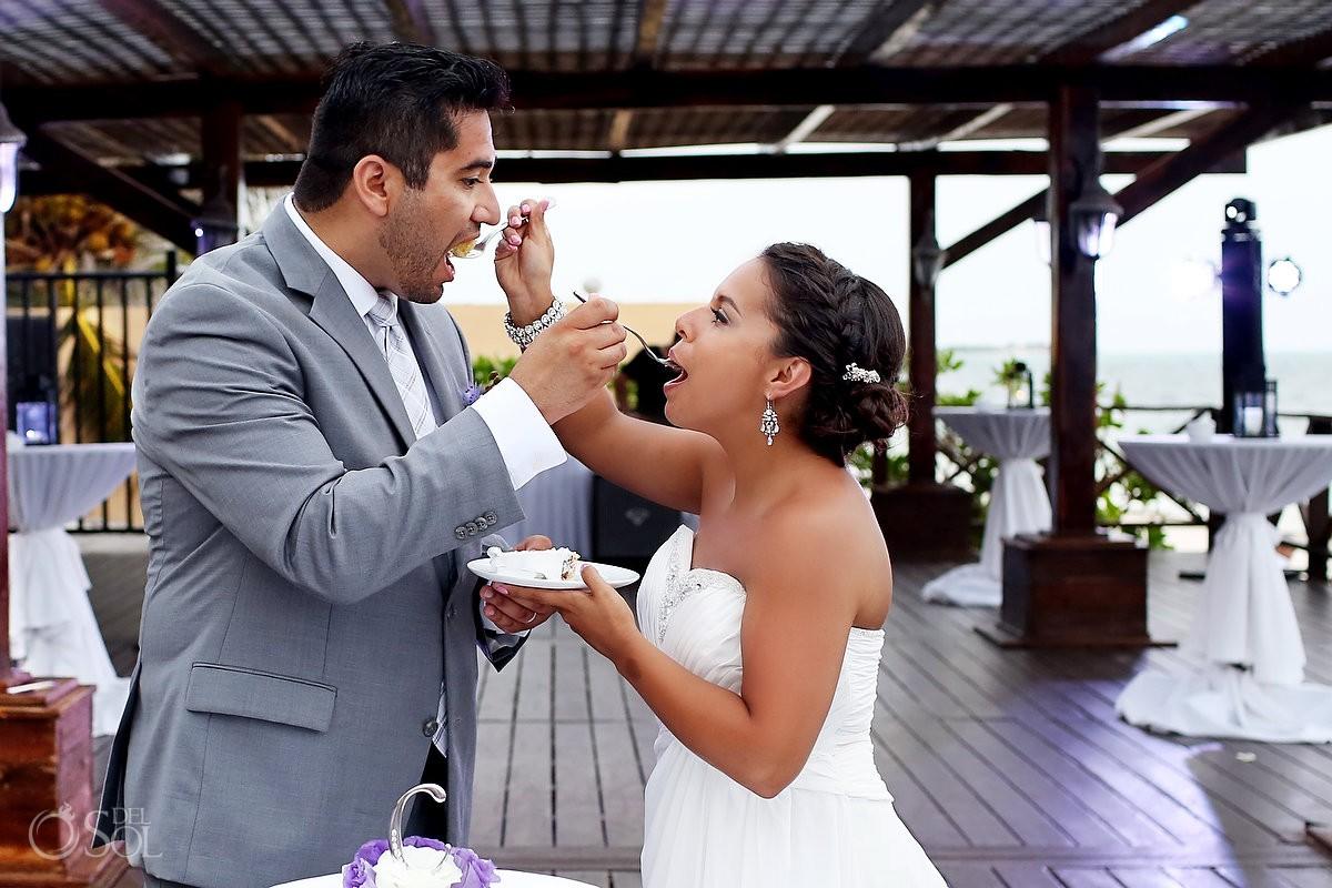 Beach wedding Now Sapphire Resort Mexico