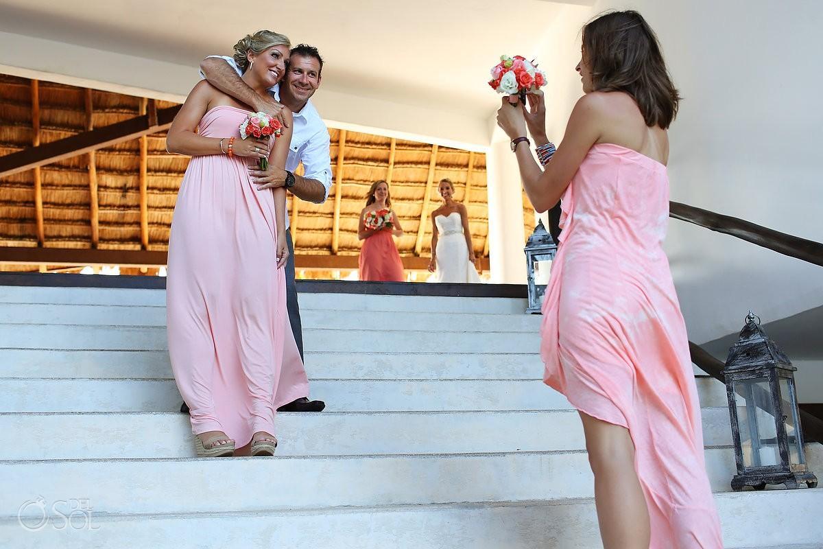 Playa del Carmen beach wedding at Le Reve Mexico