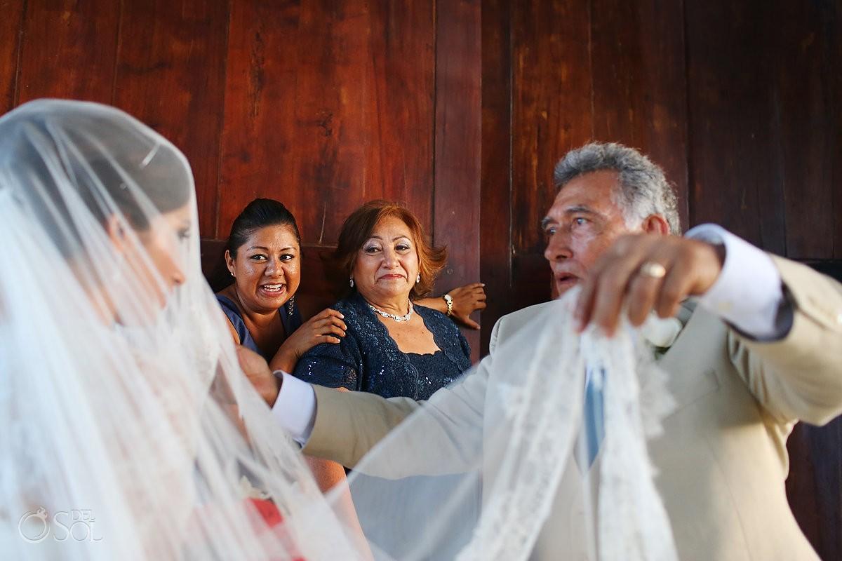 Riviera Maya wedding Xcaret Park Mexico