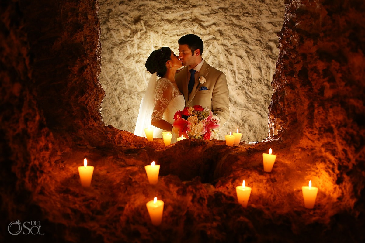 Riviera Maya wedding Xcaret Park Mexico