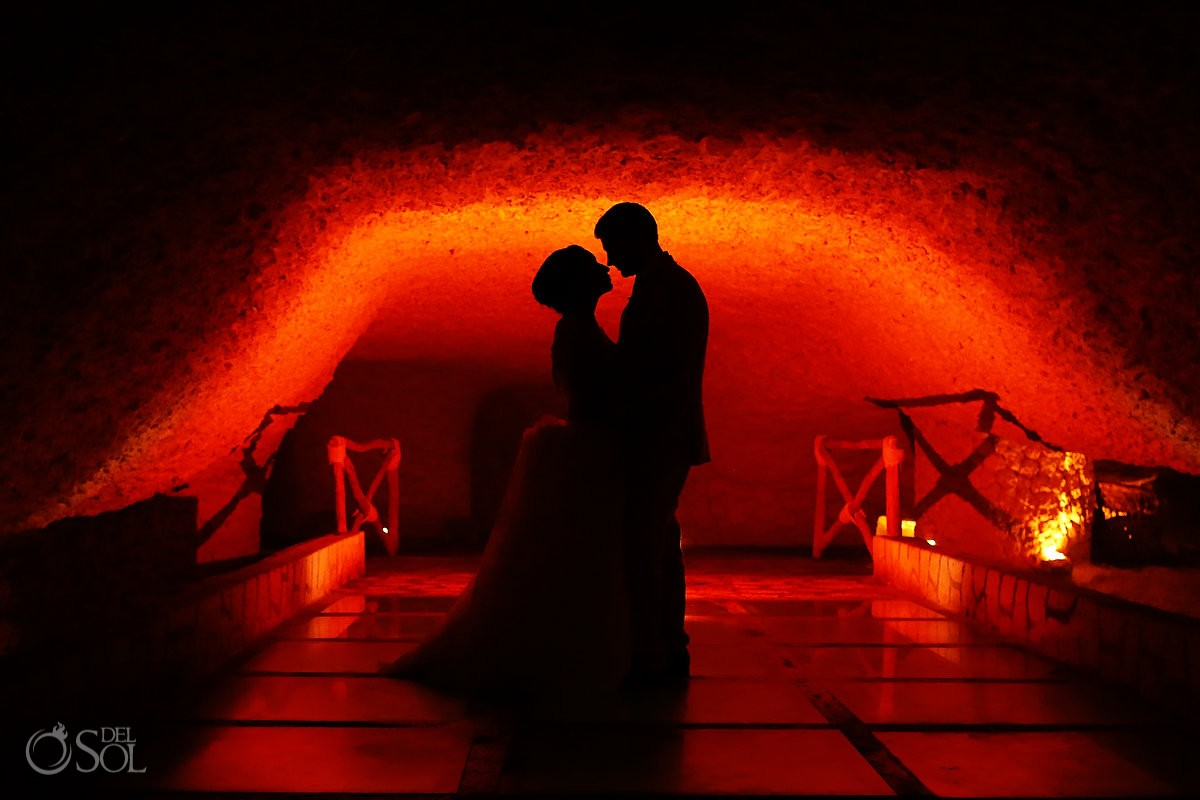 Riviera Maya destination wedding Xcaret Park Mexico #Aworldofitsown