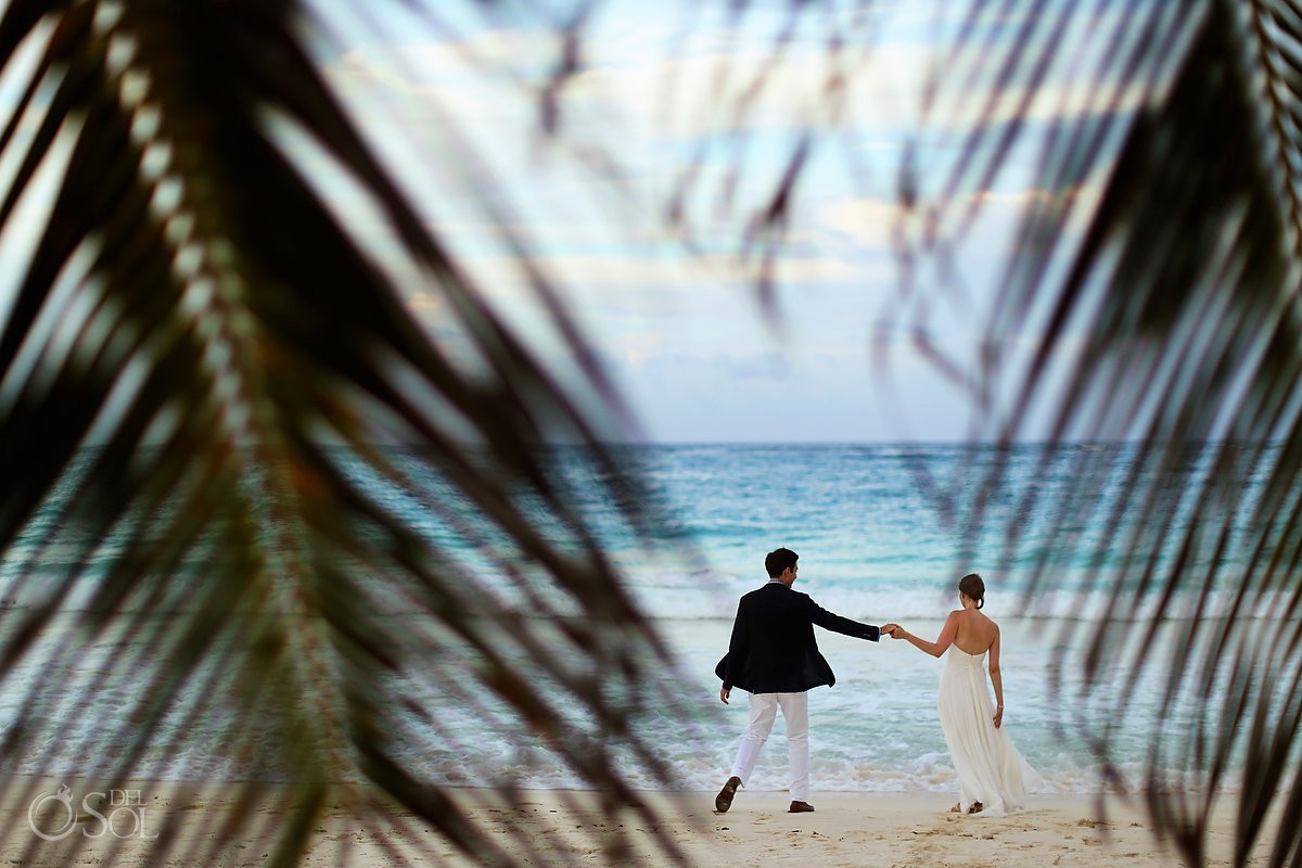 Tulum beach wedding private villa Casa Chic Mexico
