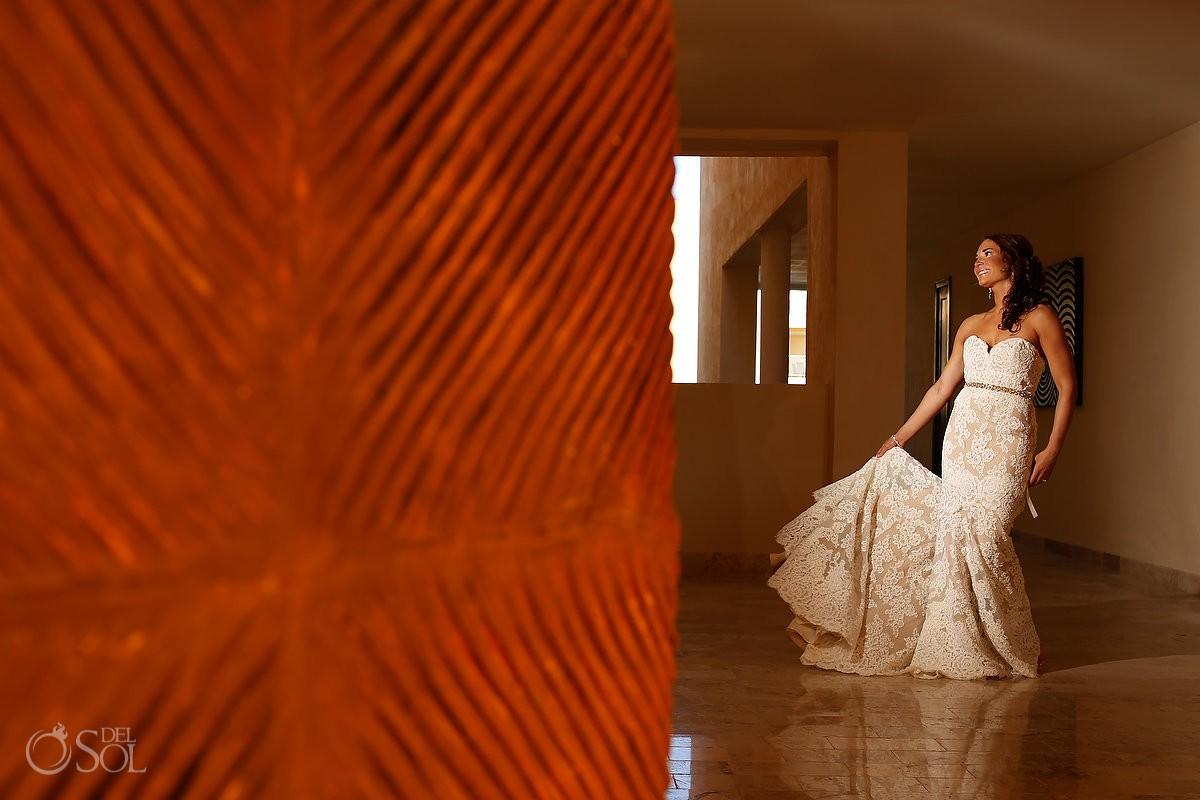 Bride wedding Riviera Maya Now Jade Resort Mexico