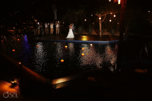 Beach wedding Playa del Carmen Le Reve Boutique Hotel Mexico