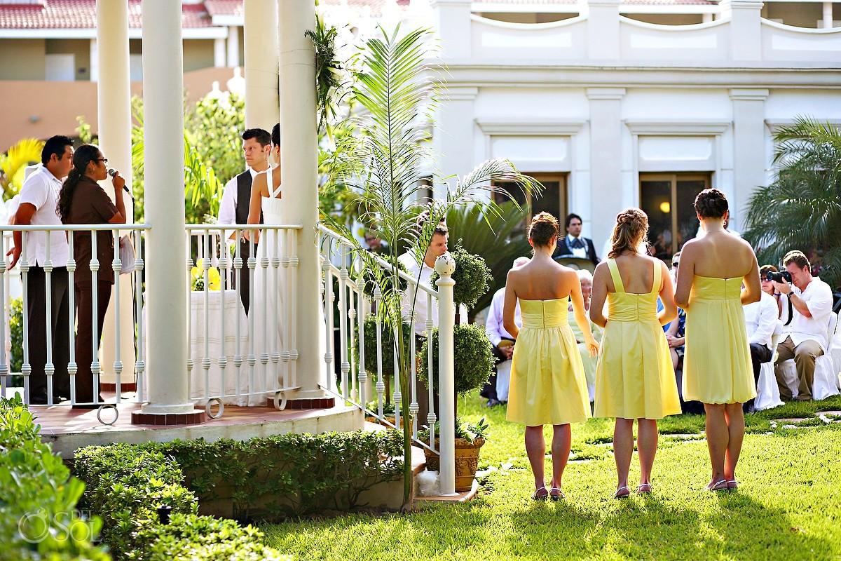 Playa Del Carmen Wedding Riu Palace Riviera Maya Alice And Ian