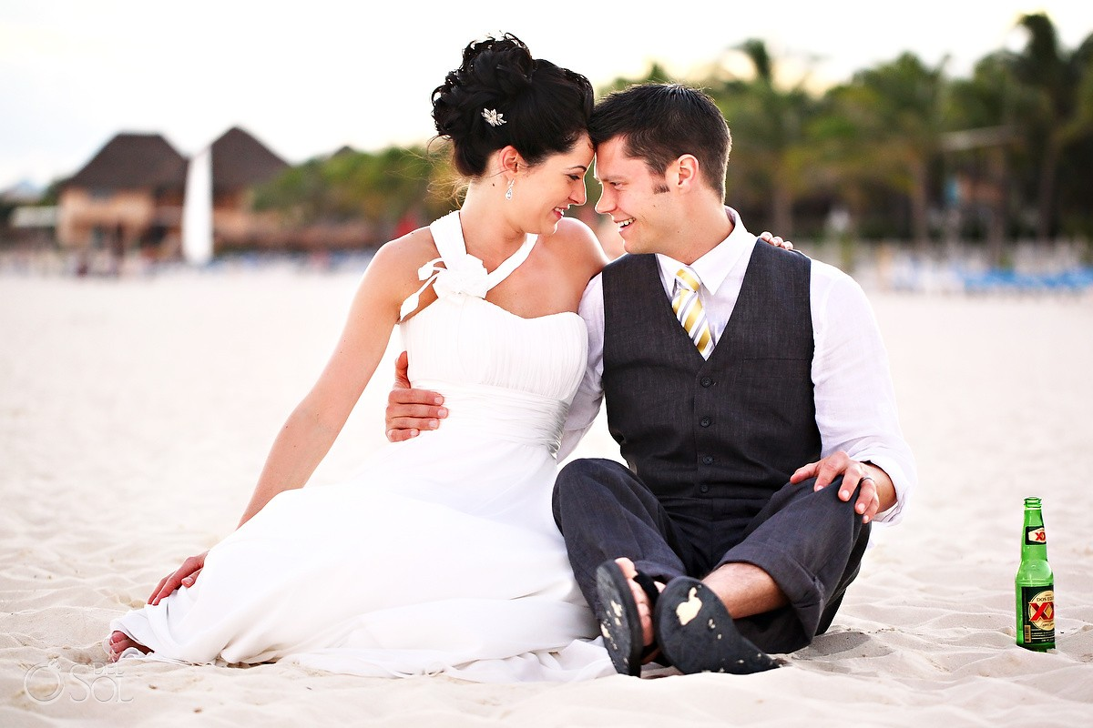 Playa Del Carmen Wedding Riu Palace Riviera Maya Alice And Ian Del Sol Photography