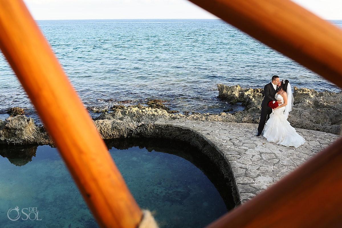 Wedding Riviera Maya Xcaret Park. Mexico photographers Del Sol Photography
