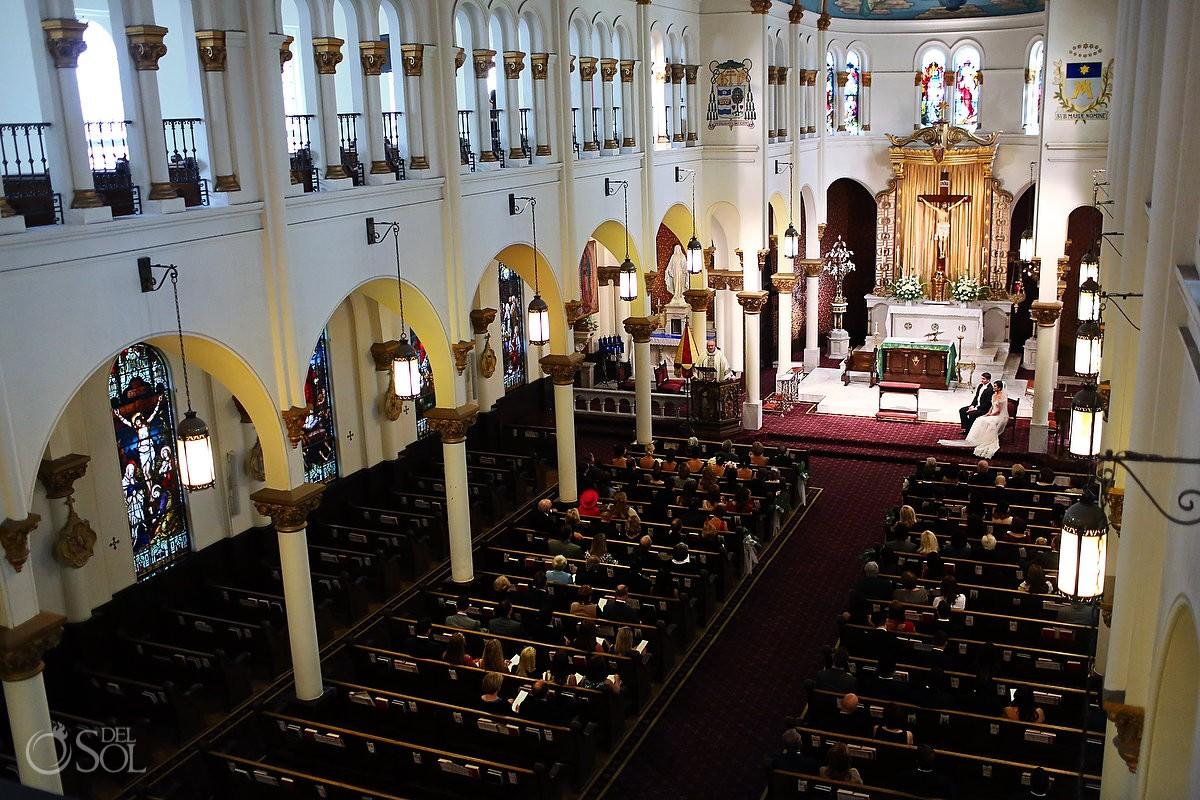 Wedding Atlanta Basilica of the Sacred Heart of Jesus Del Sol Photography