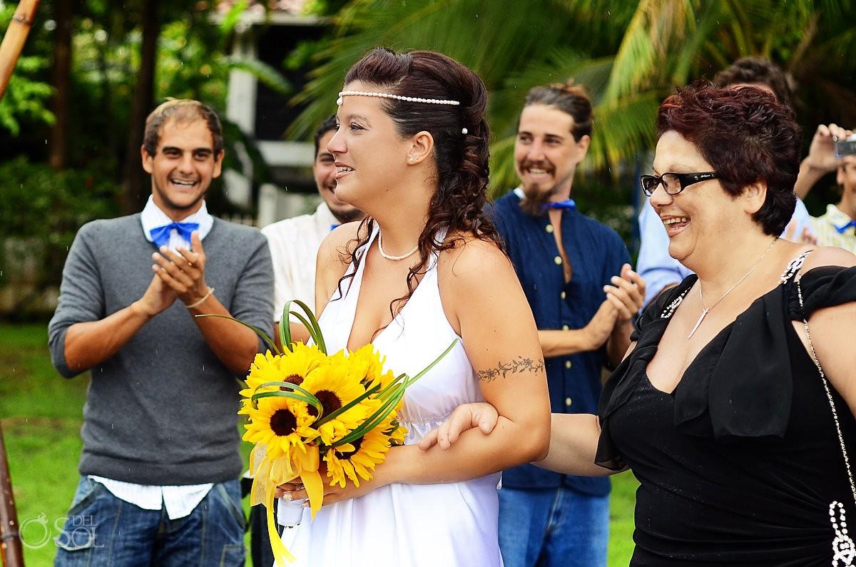 Destination beach wedding Costa Rica