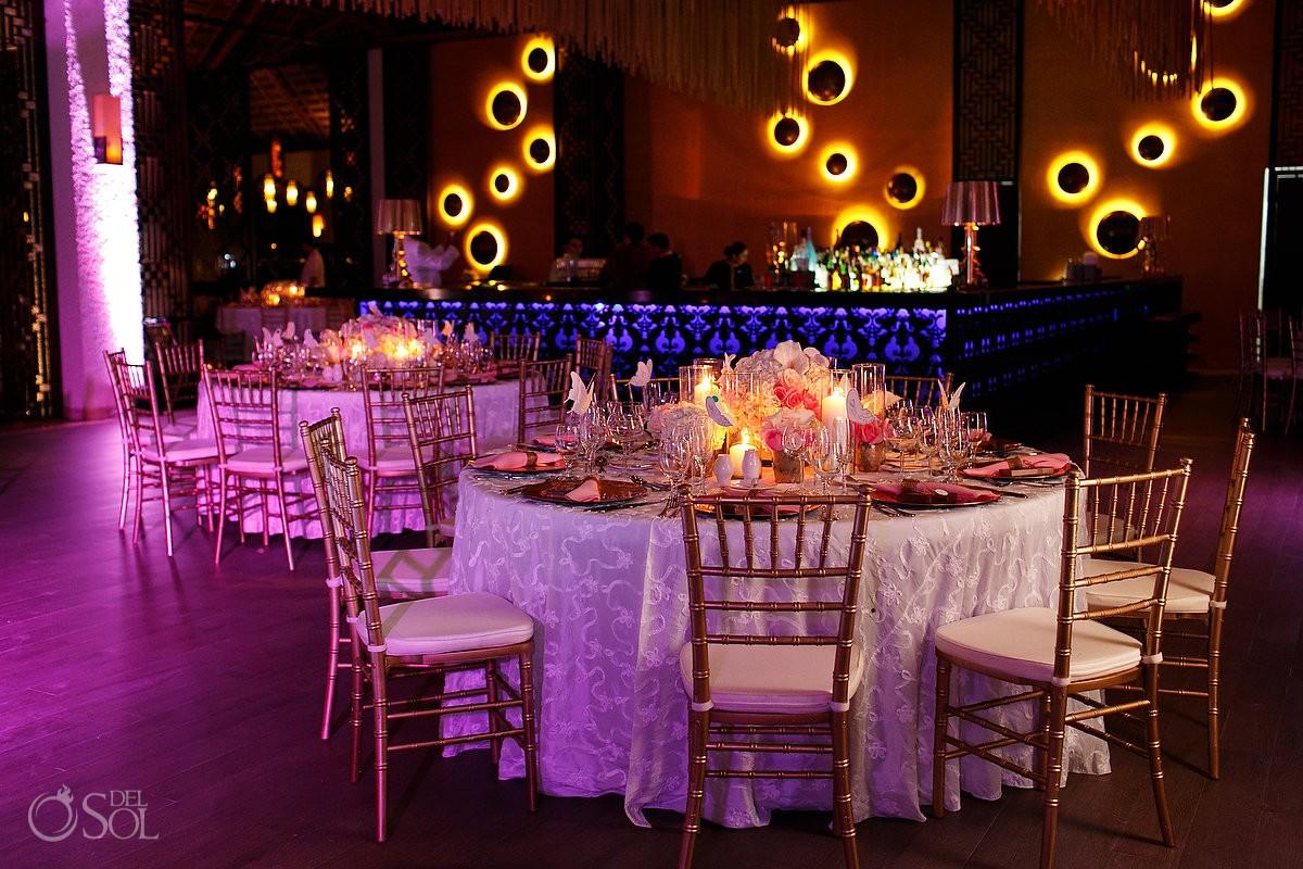 Gabi Club Wedding reception at Paradisus La Perla, Playa del Carmen