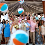 Destination wedding The Royal Playa del Carmen Mexico