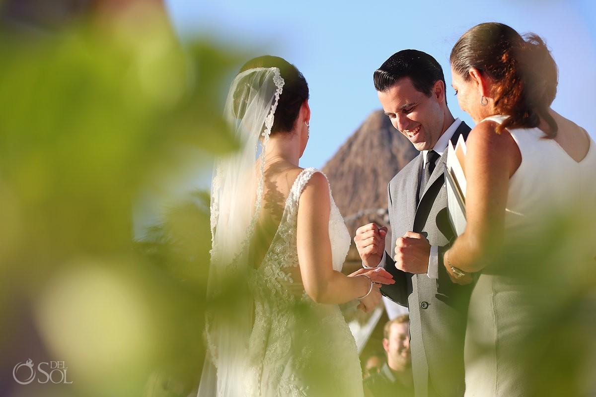 wedding Secrets Capri beach ceremony