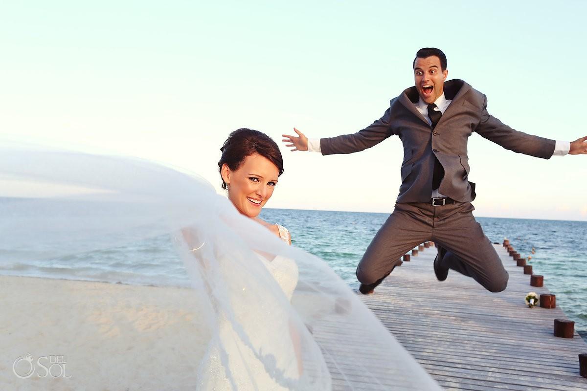 Riviera Maya beach Secrets Capri weddings