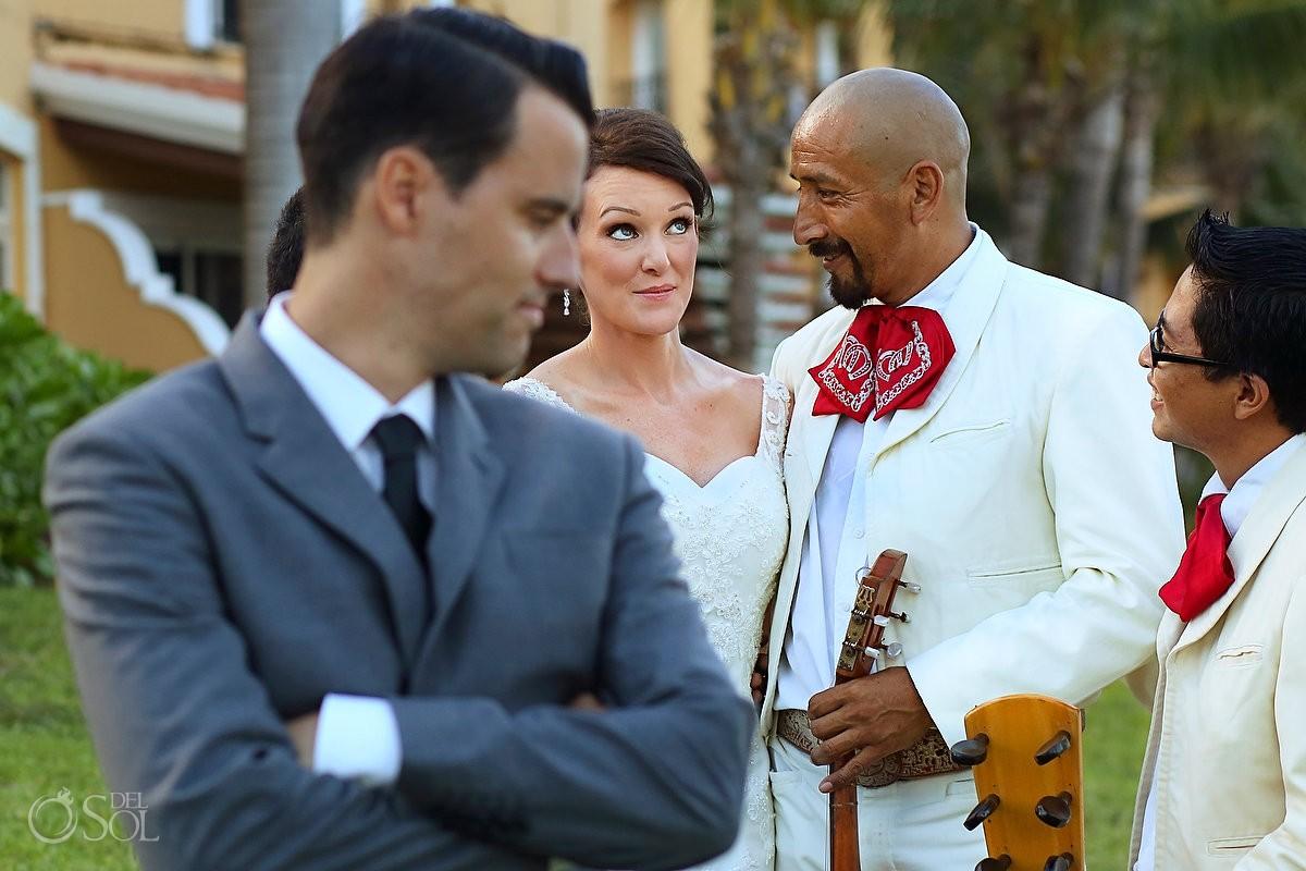 Riviera Maya beach wedding Secrets Capri