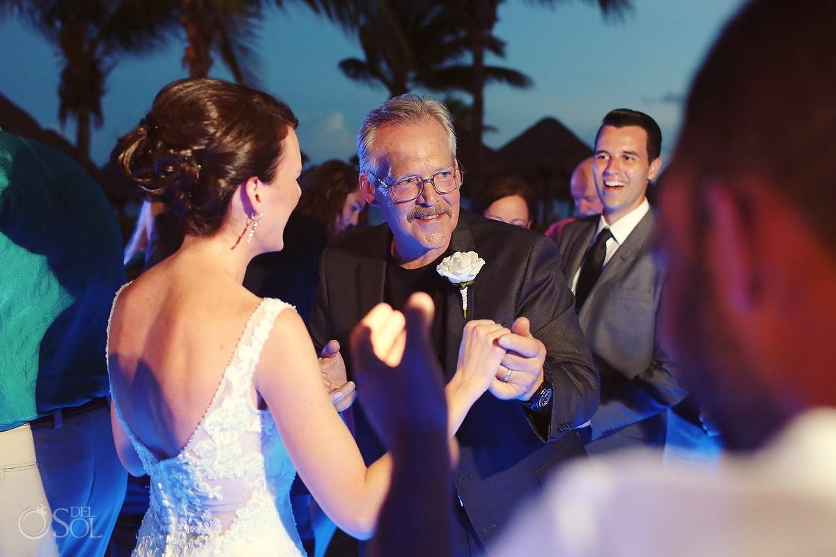 Secrets Capri wedding reception dance