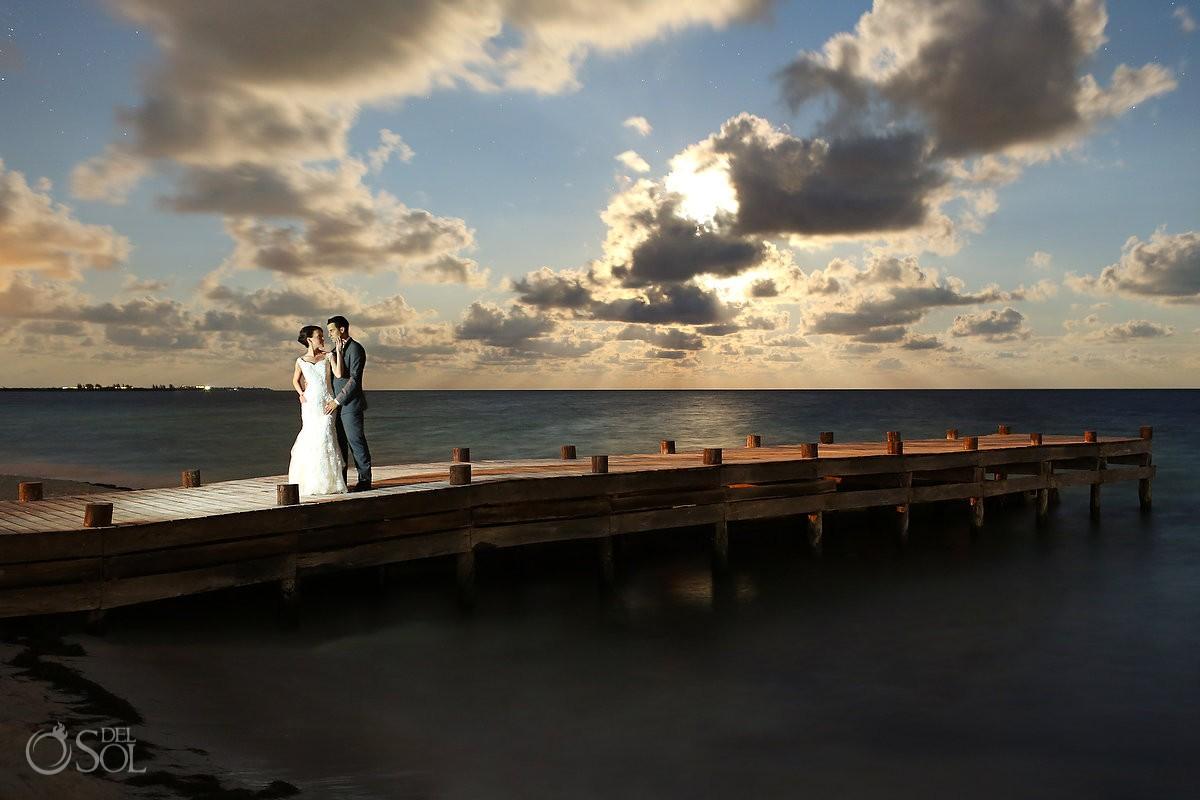 Wedding Secrets Capri dock at night