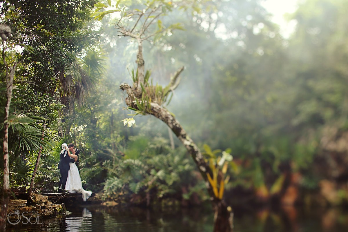 Trash the dress Mexico Riviera Maya Del Sol Photography