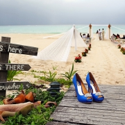 Beach wedding Sandos Playacar Playa del Carmen Mexico Del Sol Photography
