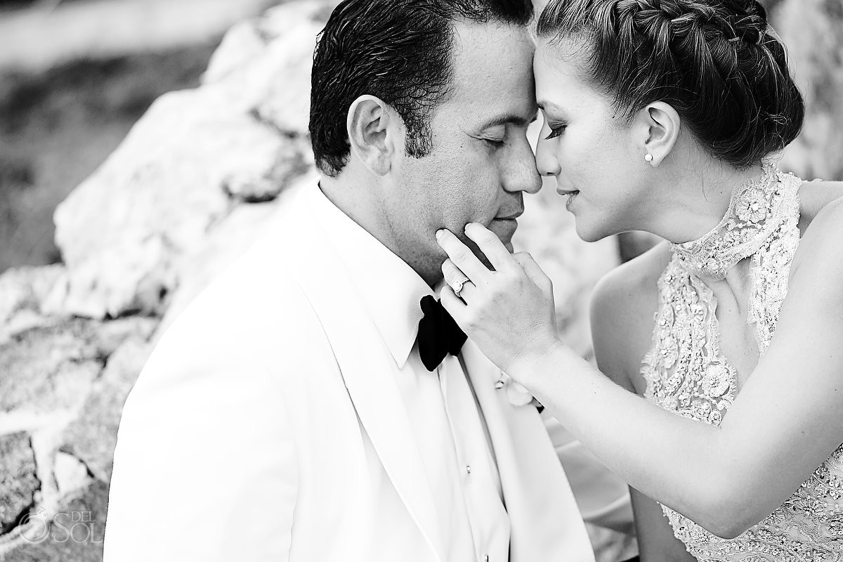 Riviera Maya wedding Caleta Tankah. Mexico photographers Del Sol Photography