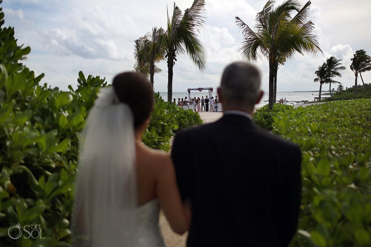 Beach wedding Dreams Tulum Resort Mexico Del Sol Photography