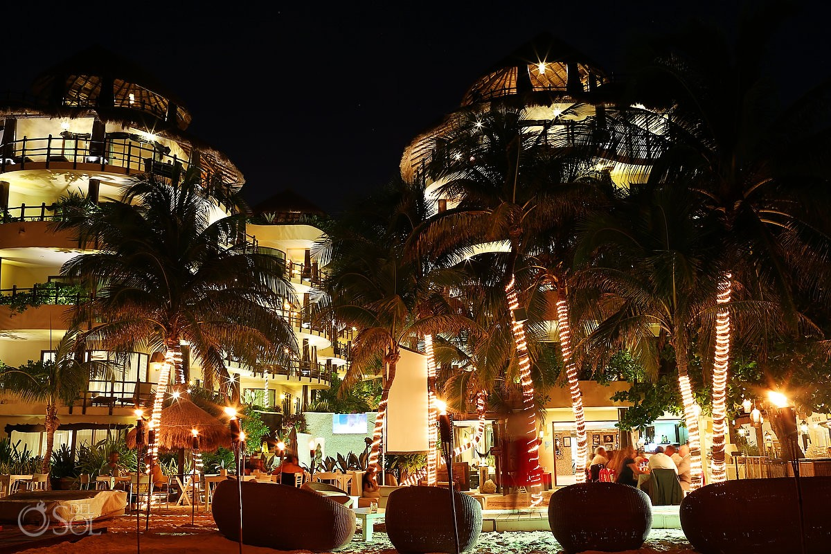 Wedding Reception El Taj Ocean Front at Indigo Beach Club