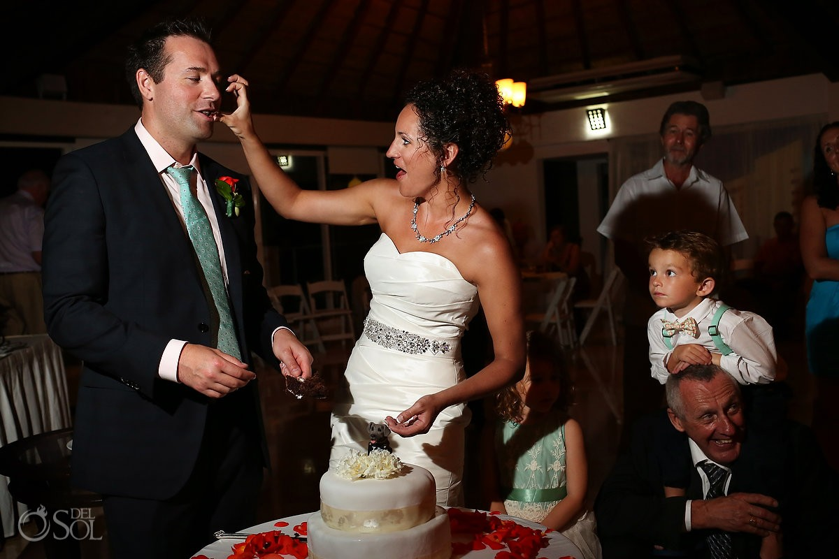 Beach wedding Playacar Palace Riviera Maya Mexico Del Sol Photography