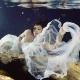 Riviera Maya underwater trash the dress cenote Del Sol Photography
