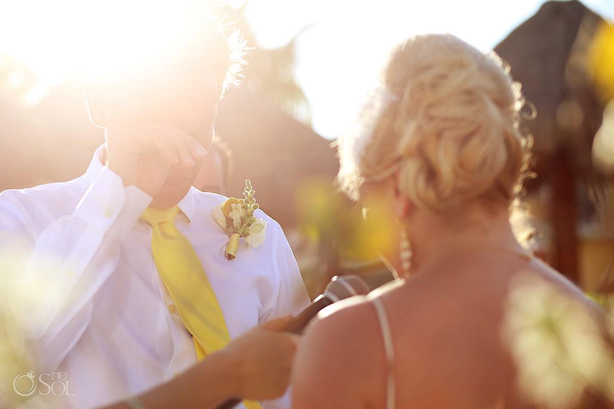 Beach wedding Secrets Capri Riviera Maya Mexico Del Sol Photography