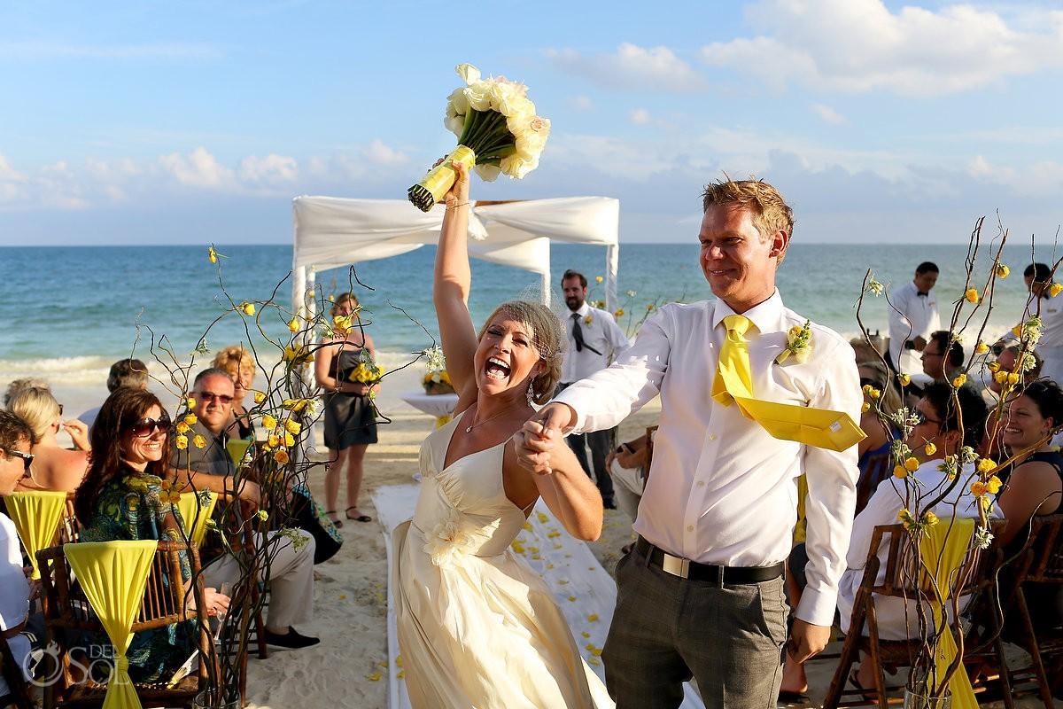Destination beach wedding Secrets Capri Riviera Maya Mexico Del Sol Photography