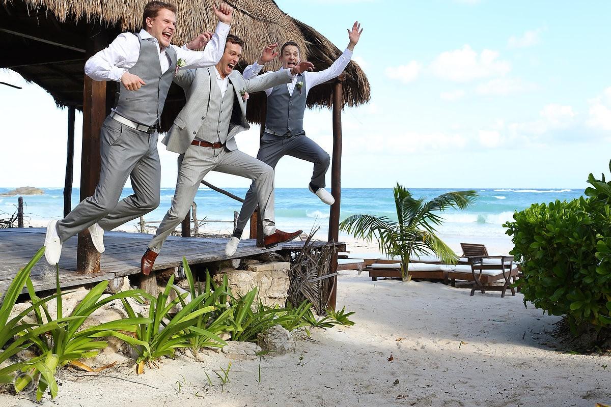 Beach wedding Tulum Ana y Jose Mexico Del Sol Photography