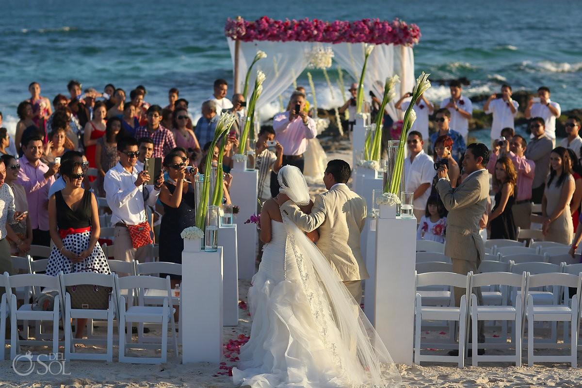 Tulum wedding Caleta Tankah beach Mexico Del Sol Photography