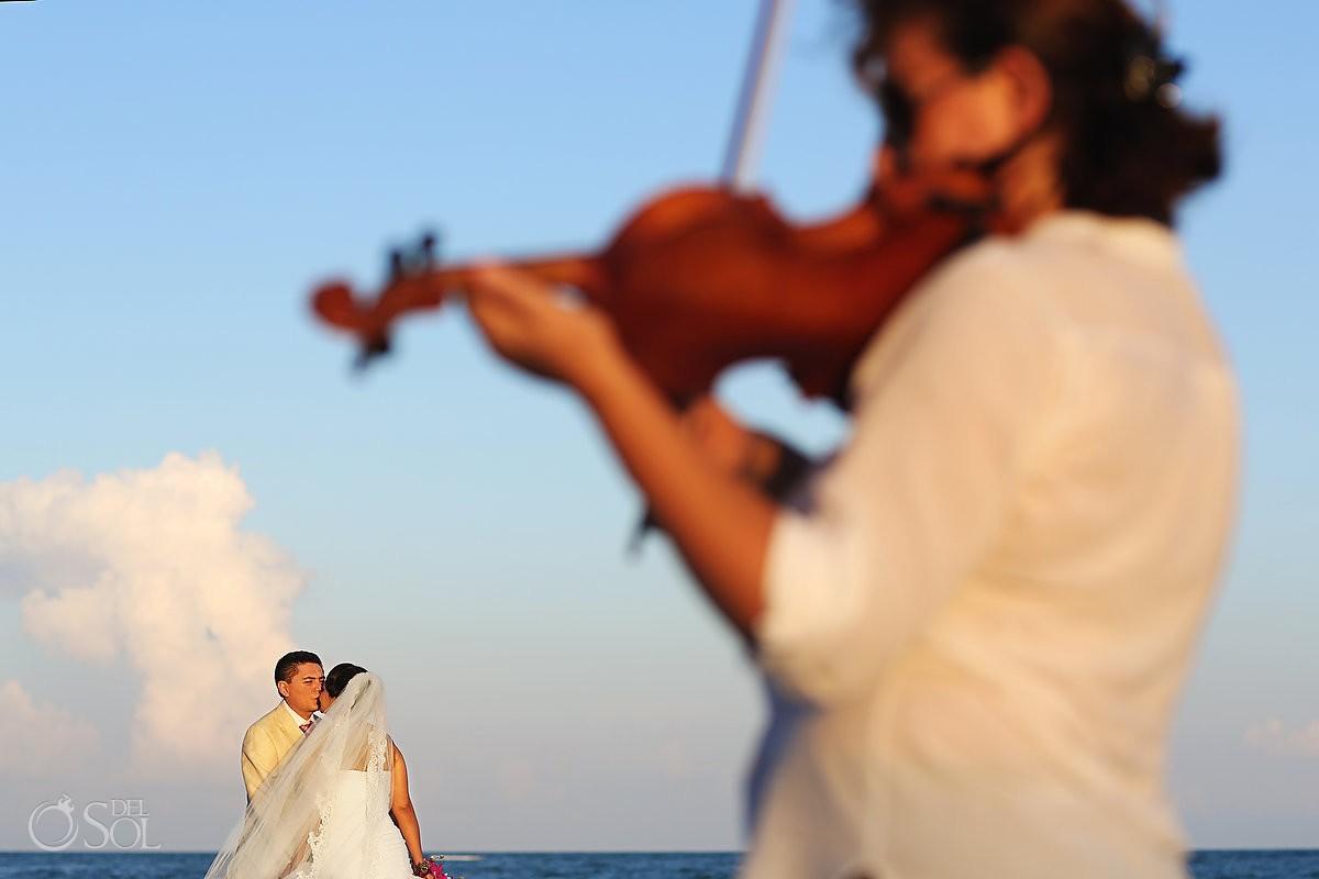 Tulum wedding beach Caleta Tankah Mexico Del Sol Photography