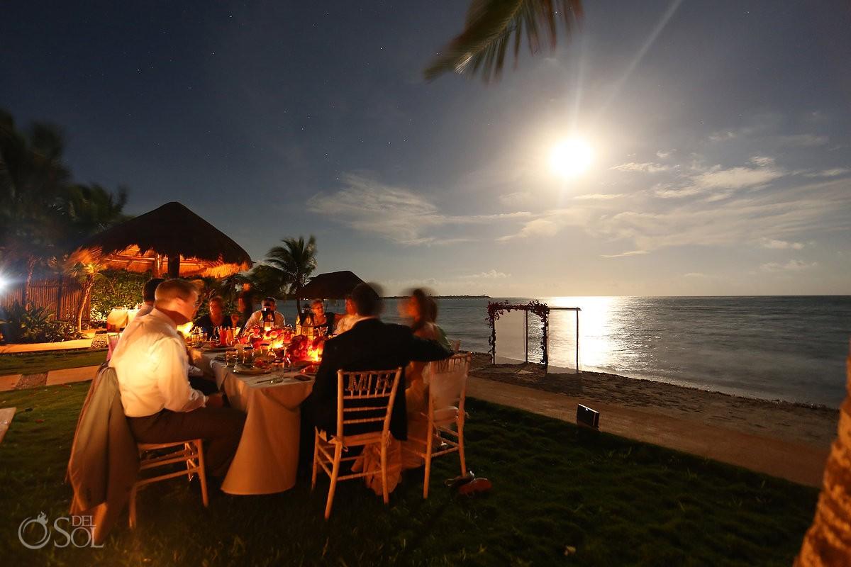 Tulum wedding beach Casa Buena Suerte in Soliman bay