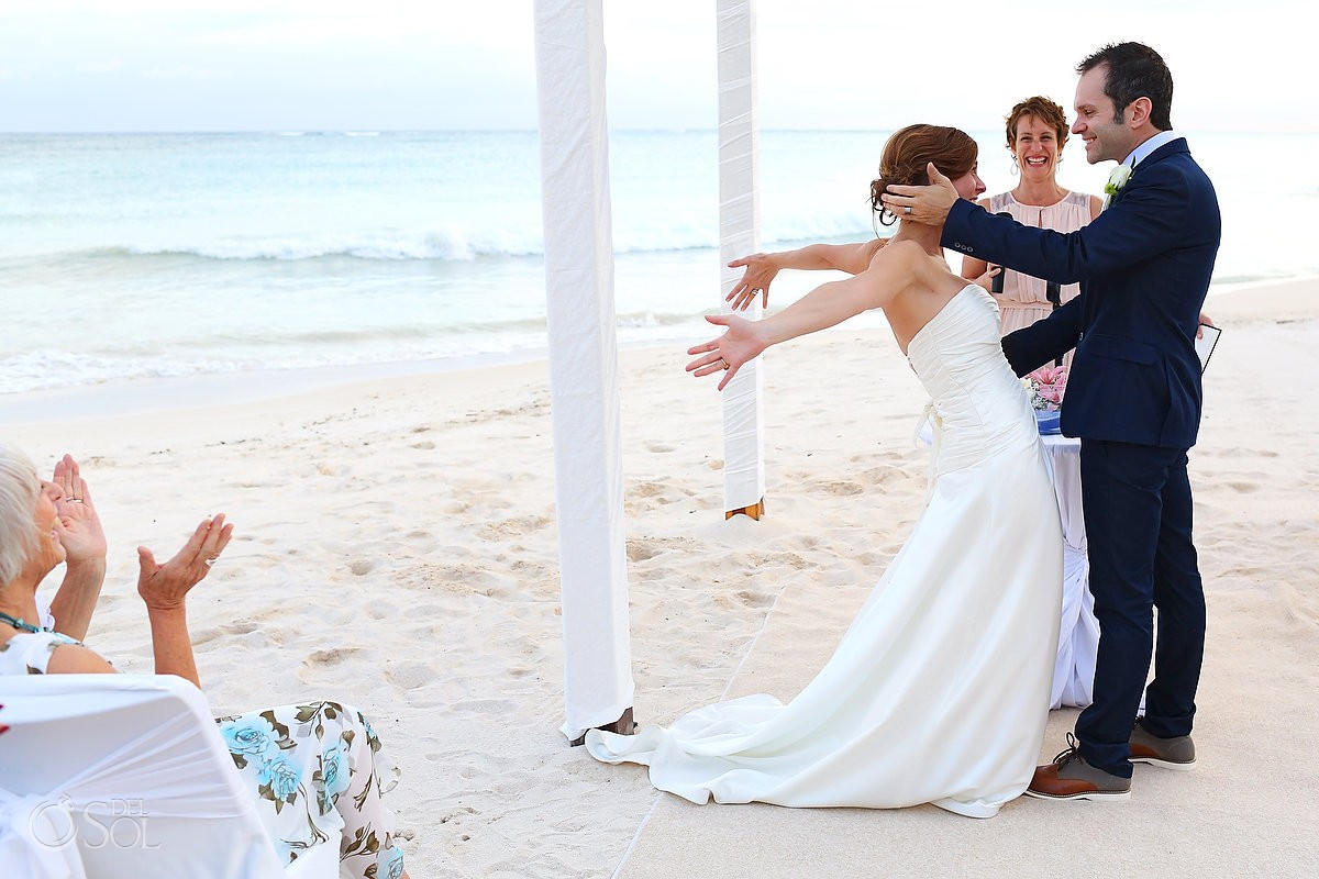 Beach wedding Dreams Tulum Mexico Del Sol Photography