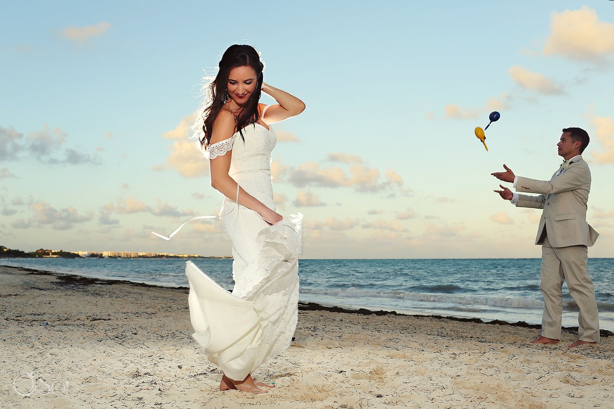 Beach wedding Riviera Maya Now Sapphire Resort Mexico Del Sol Photography